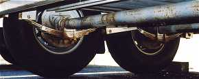 Tandem Axles with Brakes