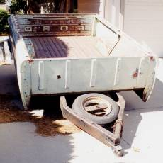 Truck Bed to Trailer Conversion
