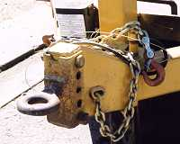 Adjustable Pintle Hitch