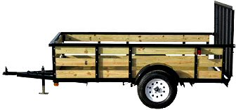 how to build wood trailer