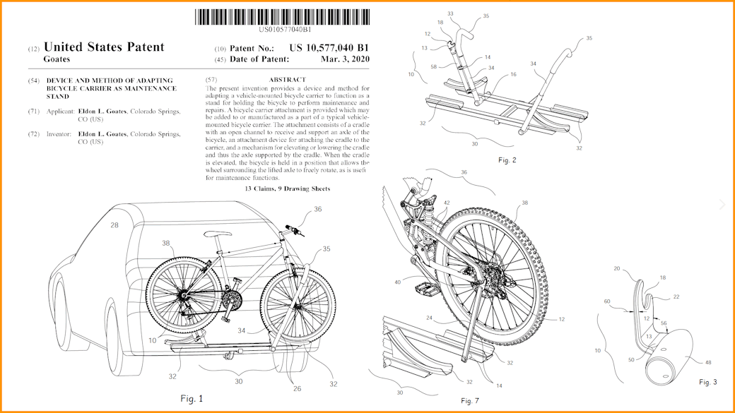 New Utility Patent Award