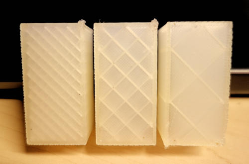 3D Printing 3 Block Test
