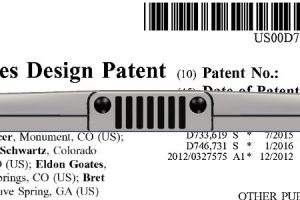 Design Patent Published Today