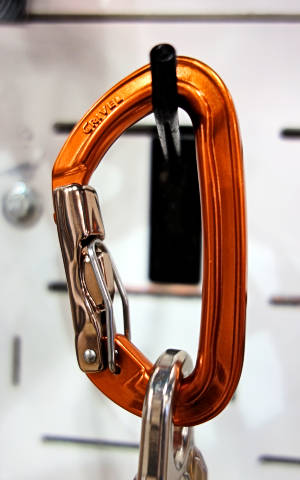 Double Gate Carabiner For Safety