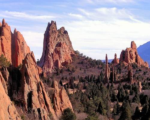 Garden Of The Gods View