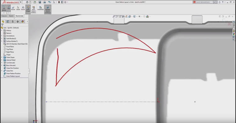 Solidworks 2018 Adds Free-Hand Sketching.
