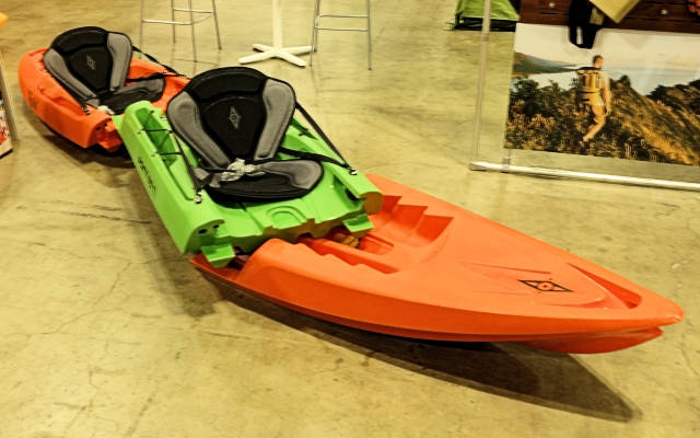 Boat In Sections