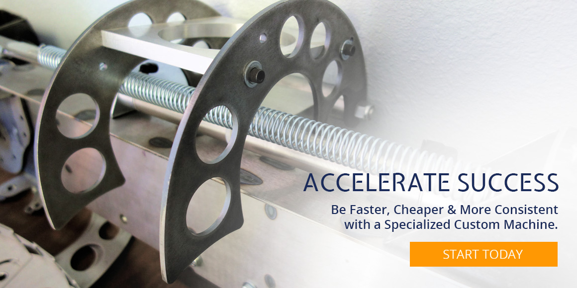 Accelerate Success With Custom Machines & Tools
