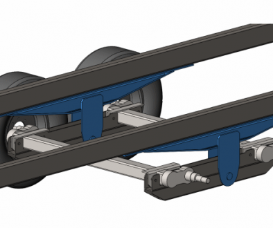 Suspension Engineering in Developing the Walking Beam for Smaller Trailers