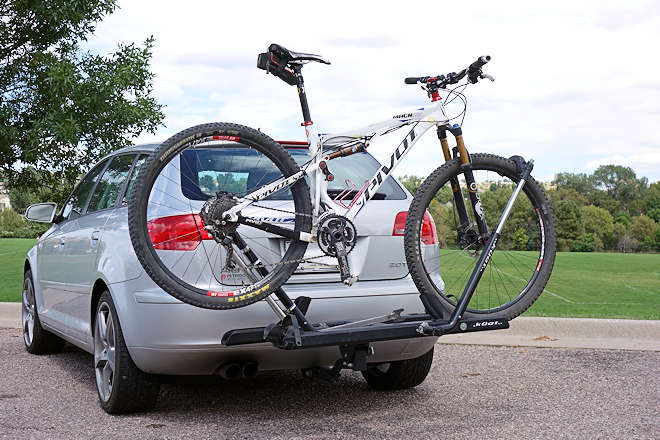Bicycle Carrier Maintenance Position