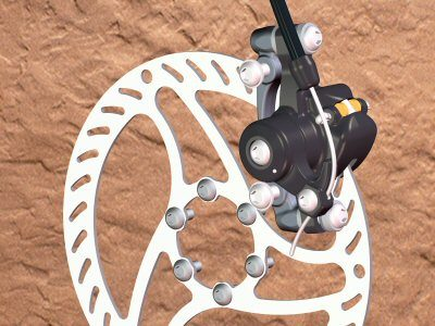 Design Example Bicycle Disk Brake