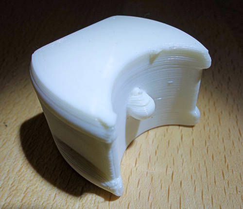 3D Printing Elastomer Prototype by FDM