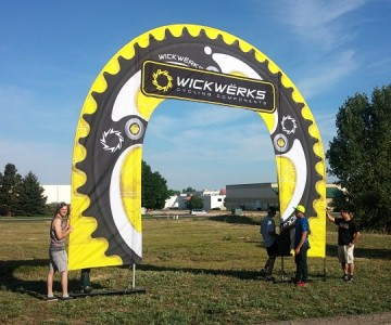 Setting up the giant chainring