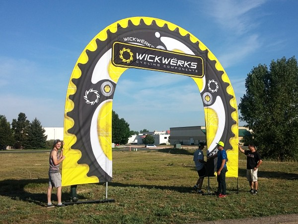 The giant chainring flag