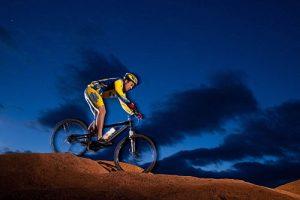 Night Time Mountain Biking