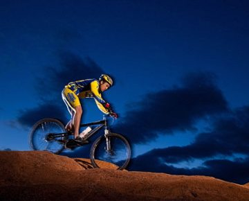Night Time Mountain Biking