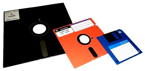 Old Floppy Disk Software