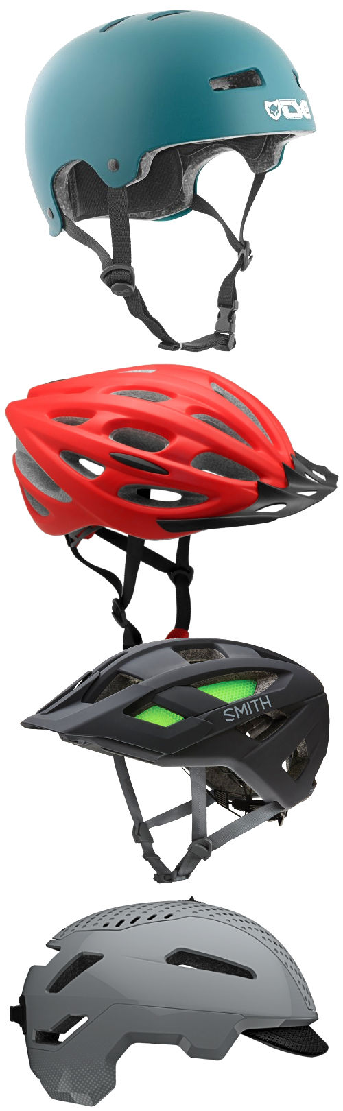 More Bicycle Helmets
