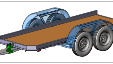 Trailer Design in Both Pro/Engineer & SolidWorks 3D CAD System