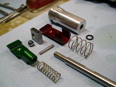 Interacting Mechanism Parts