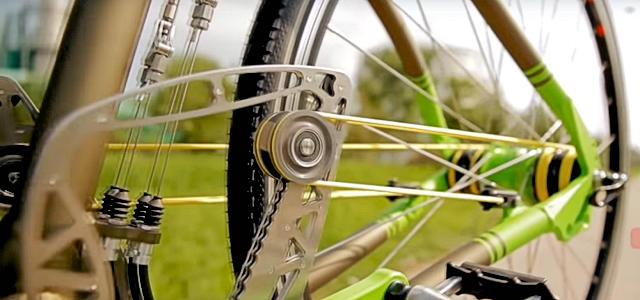 The String Bike Invention Shown In The Above Video.