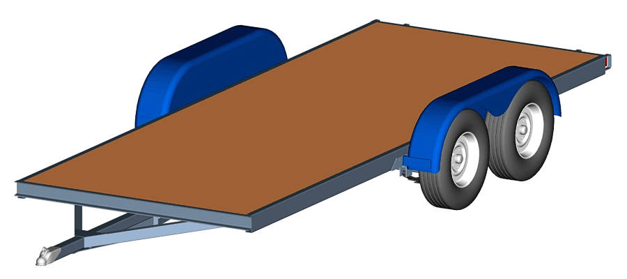 Tandem Axle Utility Trailer Plans