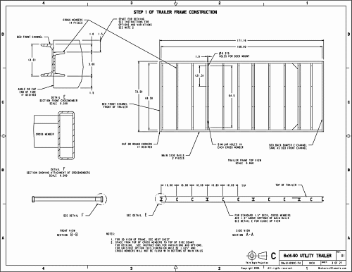 Trailer Plans Page