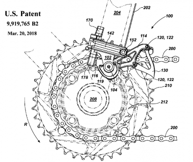 Patent for a Bicycle Derailleur