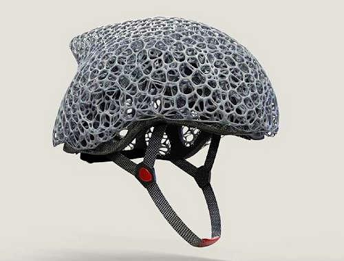 Voronoi Helmet Concept