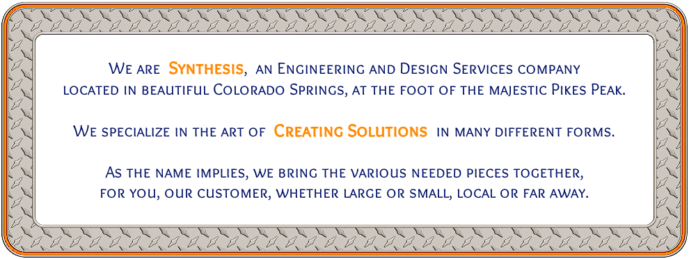 Synthesis, An Engineering & Design Services Company in Colorado Springs